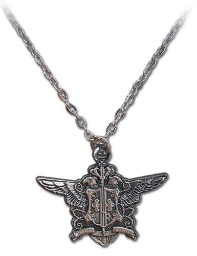 yesanime black butler phantomhive emblem necklace