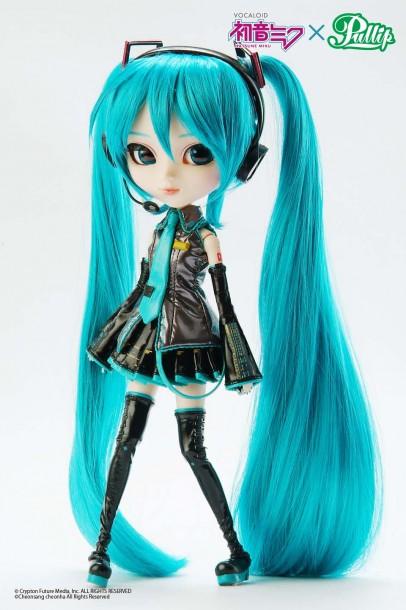 Yesanime Com Pullip Vocaloid Miku Hatsune Doll