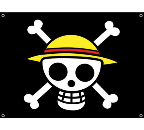 YesAnime.com | One Piece Luffy's Flag