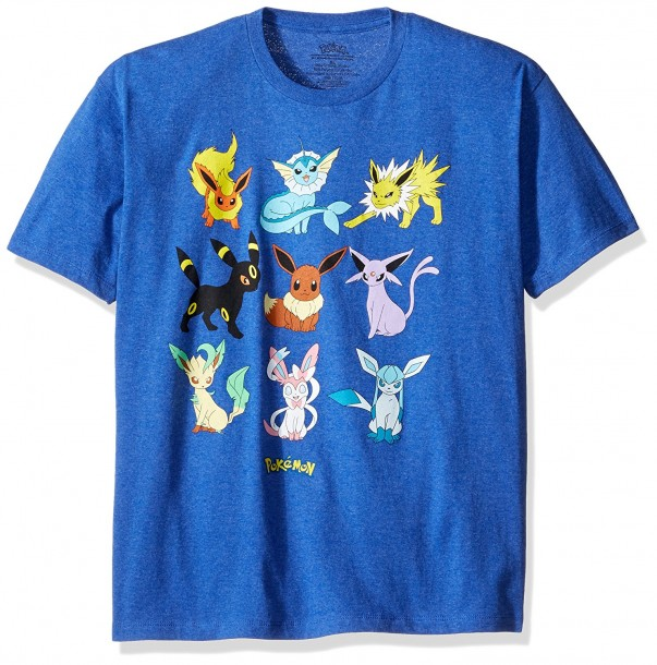 bca50b24 YesAnime.com | POKEMON EEVEELUTION Men T-Shirt Blue