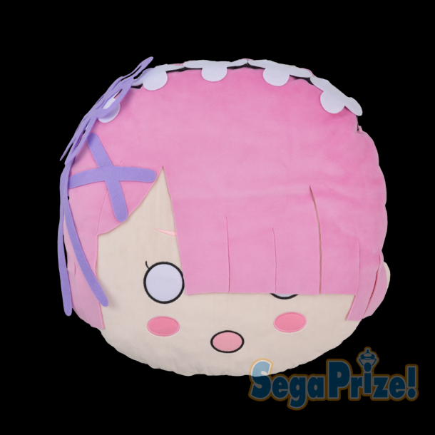 Yesanime Com Re Zero Ram Face Pillow 50cm