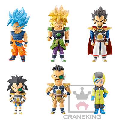 Banpresto Dragon Ball Legends Collab World Collectable Figure WCF vol.2 set of 6