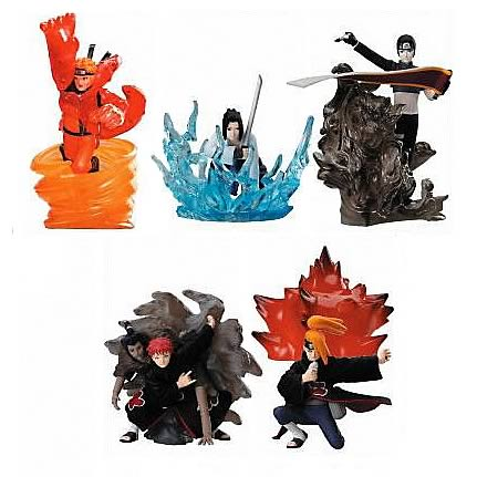 YesAnime.com | Naruto Shippuden Ninjutsu Collection Series 2 Figures Set of